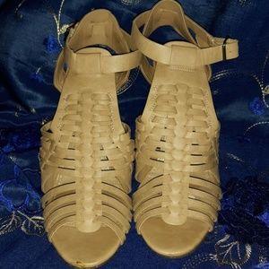 Marina Ankle Buckle Sandal Heels